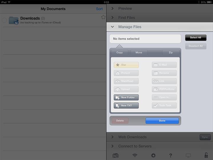 iPad画面説明