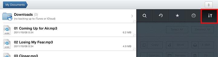 Manage file